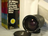 '   28-200mm MD BOXED ' Minolta MD Fit 28-200mm Zoom Macro Lens £19.99